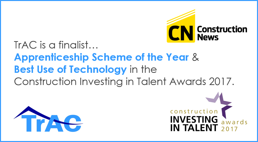 Trac Finalists In Investing In Talent Awards 2017